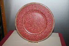 Mosaic Fruit 12-1/2 inch Charger Chop Plate Italy Pier One