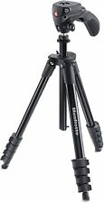 "MANFROTTO COMPACT ACTION SMART 61"" TRIPOD  OPEN BOX. Missing screw"