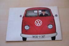 211274) VW Bus T1 - Pritsche - Prospekt 1963