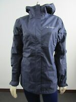 NWT Womens Columbia Timber Pointe II Hooded Waterproof Rain Shell Jacket Nocturn