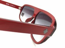 SPY+ Optics HiBall Sunglasses 670364135044 Red Black Frame - Black Fade Lens