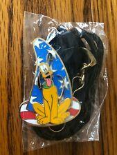 Disney Pluto Lanyard w/ Sorcerer Hat LE NIP Patriotic