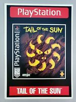 Tail of the Sun -Toys R Us Retail Display Card PlayStation 1 PS1 VidPro RARE!