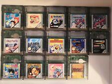 Gameboy Color Spiele Sammlung 14 Stück