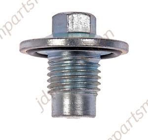 Oil Drain Plug M14-1.50 10mm Head 090-211 fits Encore ELR Cruze Sonic Trax Volt