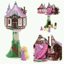Disneystore Princess Tangled Rapunzel tower castle toy playset figure new boxed