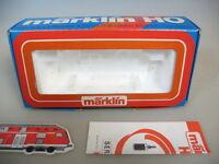 M87-0,5# Märklin H0 Leerkarton Diesellok 3149 (V 60 FSR/SNCB )+ Serviceheft 1979