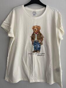 Ralph Lauren Polo Bear T-Shirt- Size XL - Like New
