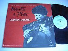 Manitas De Plata Guitarra Flamenco 1965 Mono LP