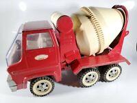 "Tonka Cement Mixer Truck 1968 Original Gas Turbine Pressed Steel 14"" Long"