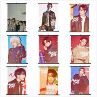Lot of & Fashion Kpop GOT7 Hanging Painting Art Painting Wall Scroll Poster