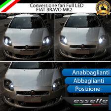 KIT FARI FULL LED FIAT BRAVO MK2 ANABBAGLIANTI ABBAGLIANTI LUCI POSIZIONE 6000K