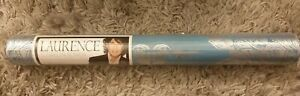 1 NEW & SEALED ROLL OF WALLPAPER - TEAL & SILVER FLORAL LAURENCE LLEWELYN-BOWEN