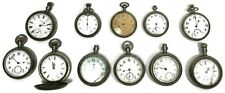 Antique Pocket Watch Lot - (11) Watches (1) Stop Watch