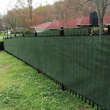 Privacy Screen Fence Heavy Duty Fencing Mesh Shade Net Backyard Cover 6 x 50 Ft
