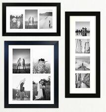 721 Multi Aperture Black Photo Picture Frame Instagram Wide Modern Collage