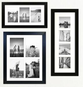 721 Multi Aperture Black Photo Picture Frame Instagram Wide Modern Collage UK