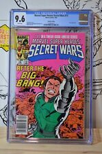 Marvel Super Heroes Secret Wars #12 CGC 9.6 UPC Canadian Price Variant (CPV)
