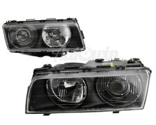 BMW 7 Series E38 Halogen Headlight Set Right and Left Side Original Genuine NEW