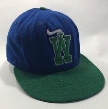 Vintage Charleston Wheelers New Era 59/50 7 1/8 Baseball hat MiLB Wool Minors