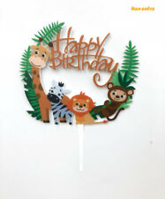 Kids Birthday Cake Topper, First Birthday Cake Decorations,Happy Birthday Topper