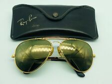 Ray Ban B&L USA W1508 62mm Diamond Hard Outdoorsman Aviator Sunglasses