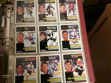 91-92 Pinnacle Premier Edition Complete 420 Card Hockey Set