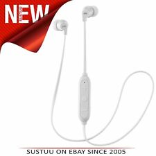 JVC HAFX21BTWE Wireless Bluetooth Remote Headphone│Powerful Sound │In Ear│White│