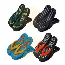 WIWO 4 Pairs of Sandal Flip Flop Towel Clips - One of Each