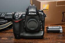 Nikon D3 Full Frame (FX) DSLR Pro Camera Body US Model! Well Maintained!