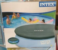 Telo di Copertura per piscina  gonfiabili e tonda di cm 305 blu intex 58938