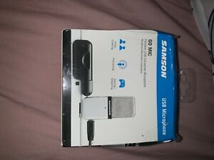 Samson Go Mic USB Condenser Microphone for Recording & Streaming w/ Case & Cable