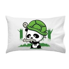 The WAR Partners Cute Panda Turtle Helmet Squirrel Gun Single Pillow Case Soft