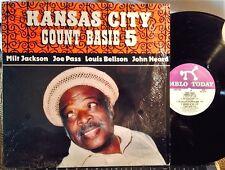 JOE PASS w/ COUNT BASIE - Kansas City 5 - Milt Jackson  Pablo, 1981, NM Shrink
