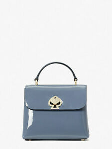 🌸 Kate Spade Patent Leather Mini Romy Satchel Crossbody Bag Purse Handbag NWT