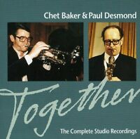 Chet, and Paul Desmond Baker - Together: The Complete Studio Recordings [CD]