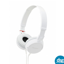 Sony MDR-ZX100 ZX Series Headphones Outdoor - Travel (White)