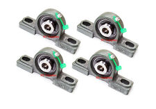 """High Quality 1/2"""" UCP201-8 Pillow Block Bearing with Greese Fitting(Qty4)+20 oos"""