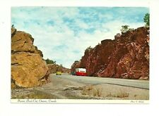 KAVERS ROCK CUT ON THE CIRCLE ROUTE, HIGHWAY 17, ONTARIO, CANADA POSTCARD