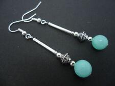Hook Jade Handmade Costume Earrings