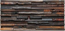 Home interior design tile antique reclaimed wood rustic barn wood wall paneling
