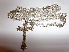 VINTAGE HAYWARD STERLING SILVER ROSARY CHRISTIAN CATHOLIC