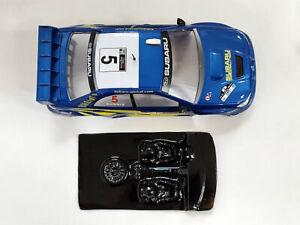Lexan rally Subaru WRC ´06  Mustang Slot compatible Ninco carroceria no incluida
