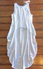 2e9ae8d3d54 CHELSEA SKY ~ New! NWT Small ~ DRAMATIC! Flowy HIGH-LOW Crop Tunic