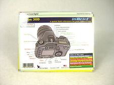 Used Canon 30D an inBrief Quick Field Reference Guide by Blue Crane Digital