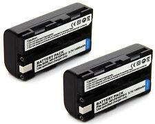 2x Battery for Sony Cyber-shot DSC-F505 DSC-F55 DSC-P1 DSC-P20 DSC-P30 DSC-P50