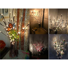 Indoor Wedding Party Mains Plug Home Nordic Fairy String 20LED Twig Branch Light