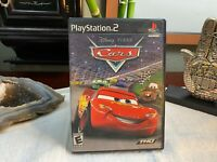 Disney Pixar Cars (Sony PlayStation 2, 2006) PS2 Complete+Manual+Insert RARE
