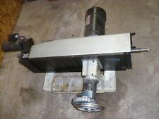 K.O. Lee CNC surface grinder column, ball screw, servo