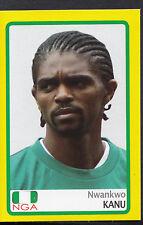 PANINI CALCIO ADESIVO-AFRICA CUP 2008-N. 90-NIGERIA-NWANKWO KANU